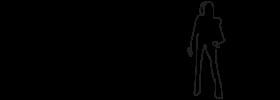 pointekvinde illustration